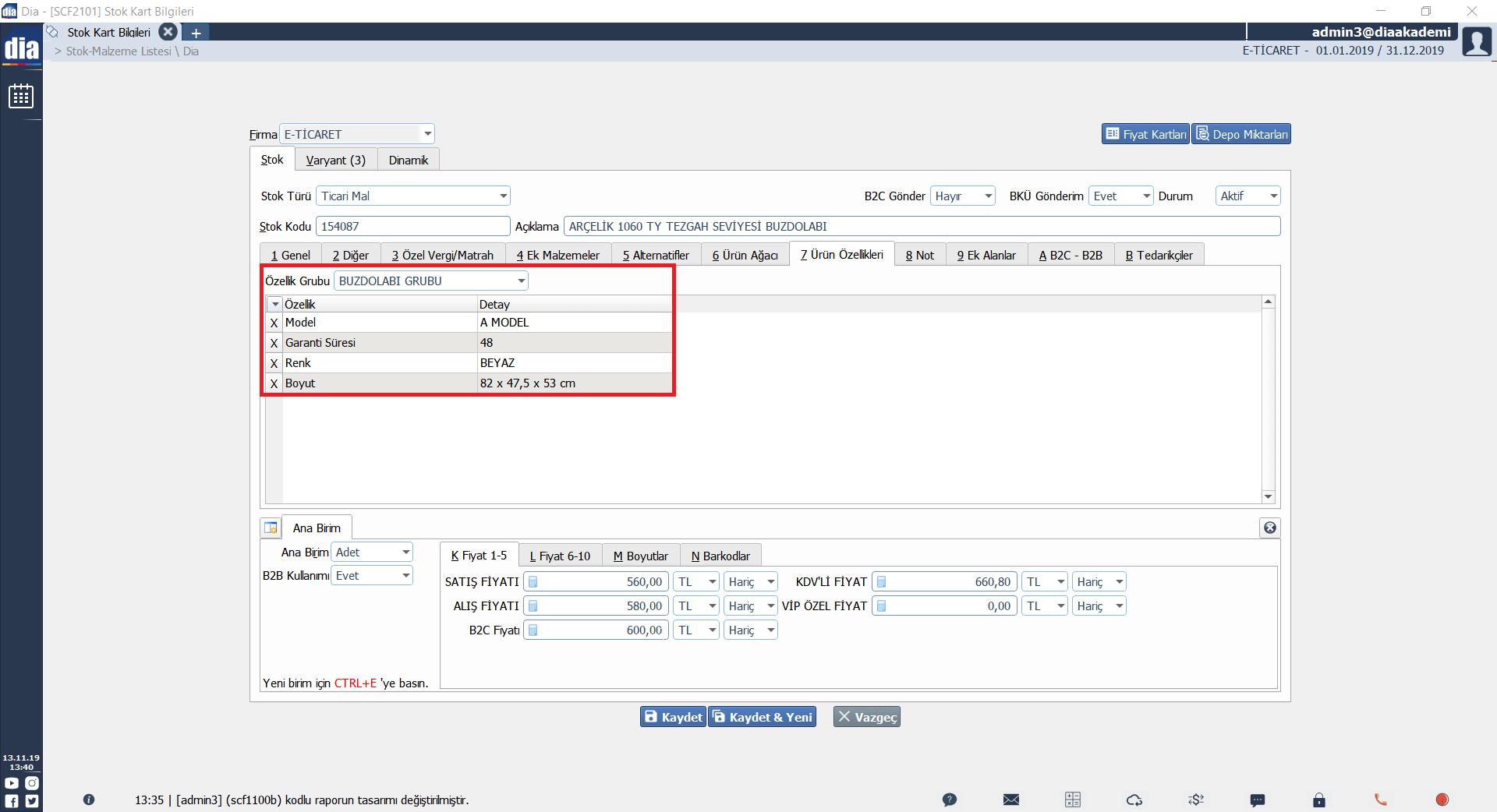 b2c entegrasyon listesi